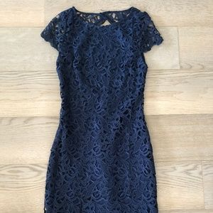 Alice + Olivia Navy Formal Dress